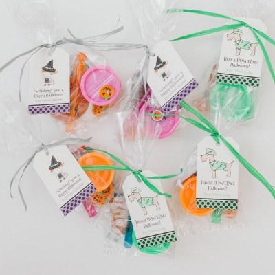 Halloween Gift Tags + Non Candy Filler Ideas
