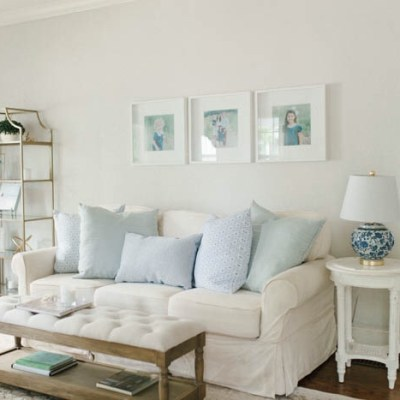 Living Room Refresh with Tuesday Morning