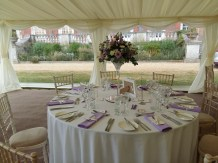 Stansted Park provides a lovely setting for a summer wedding.