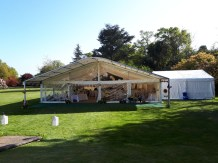 Our panoramic windows and clear gable allow for the marquee to make full advantage of the surroundings.