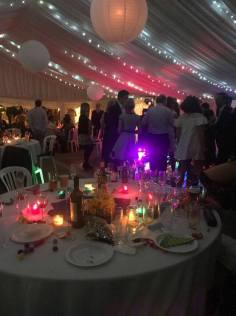 Our marquees provide the perfect party space!