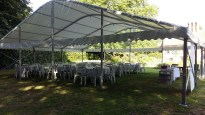 We can accomodate large numbers of guests for a simple lunch without needing a large budget!