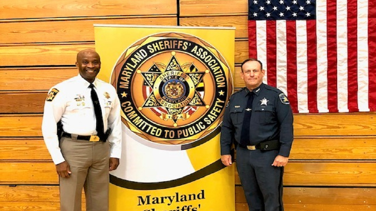 Charles County Sheriff Troy D. Berry Sworn In as President, Maryland Sheriff's Association