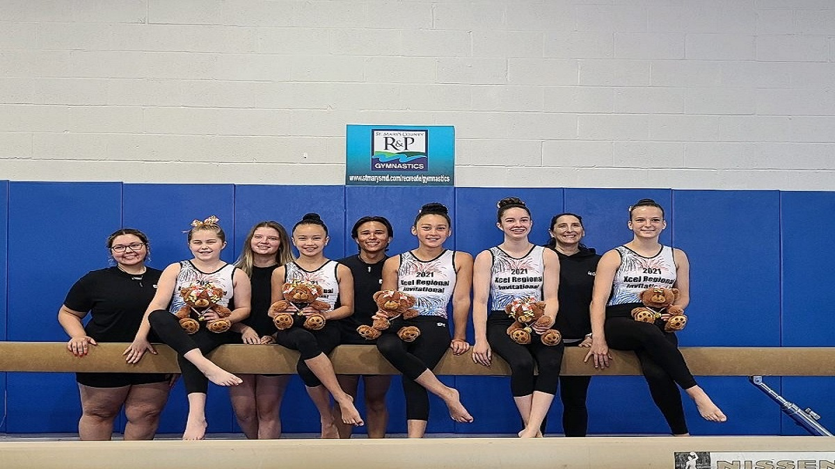 Department of Recreation & Parks' Gymnastics Academy USAG Xcel Silver, Gold, and Platinum Teams Compete in Xcel Regional Invitational