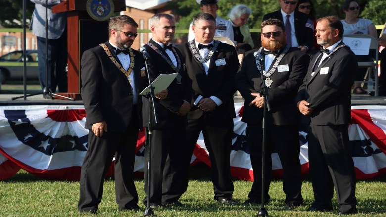 St. Mary's Commissioners Commemorate Flag Day