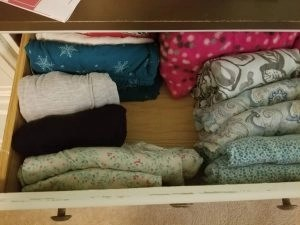 marie kondo tidying up my jeans drawer sparks joy