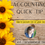 accounting quick tips how to calculate cost of goods sold