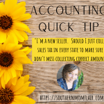 accounting quick tip sales tax collection