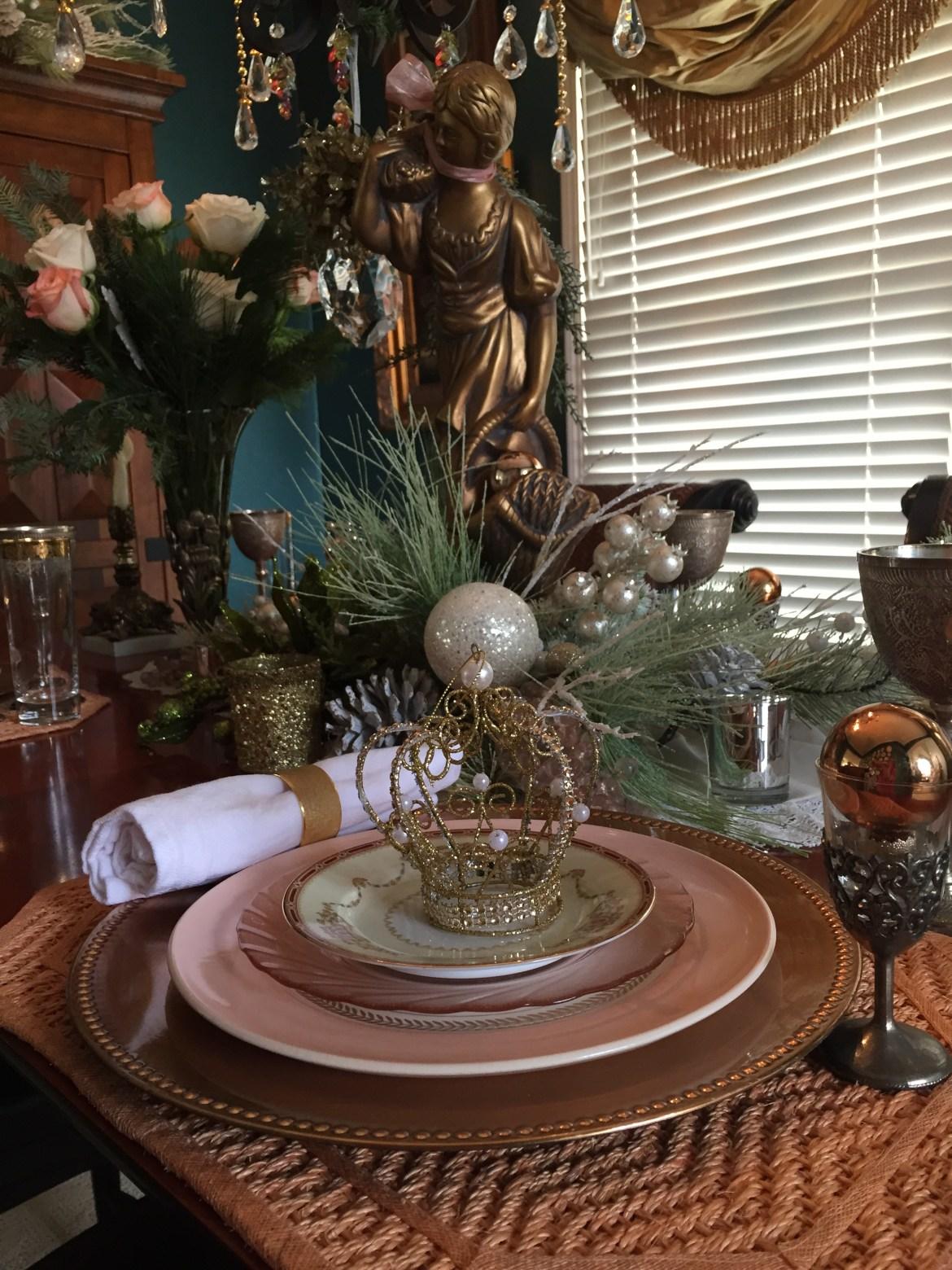 Vintage Victorian Table Setting