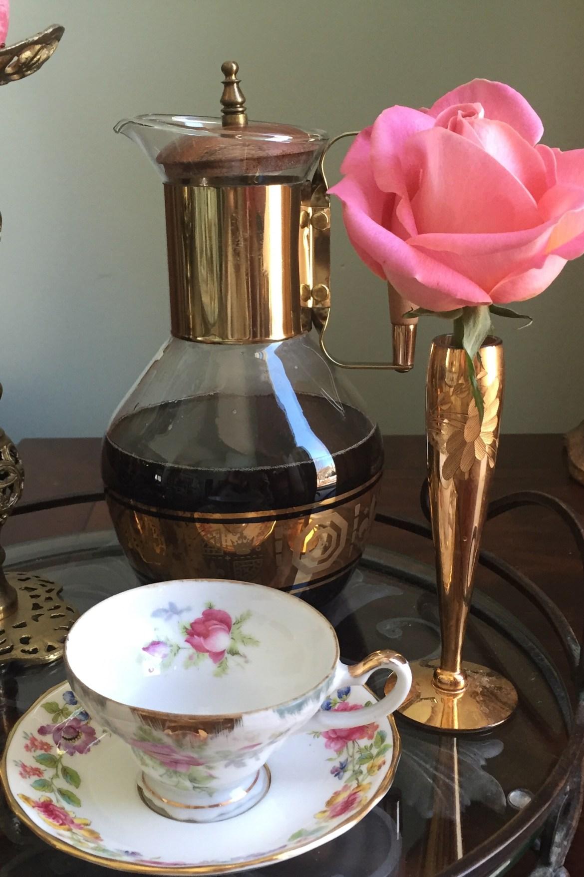coffee caraffe and rose.jpg