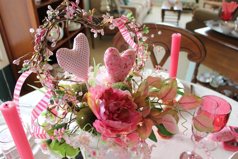 Pink Valentine's Day Decor