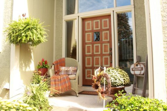 DIY Front Door for Curb Appeal