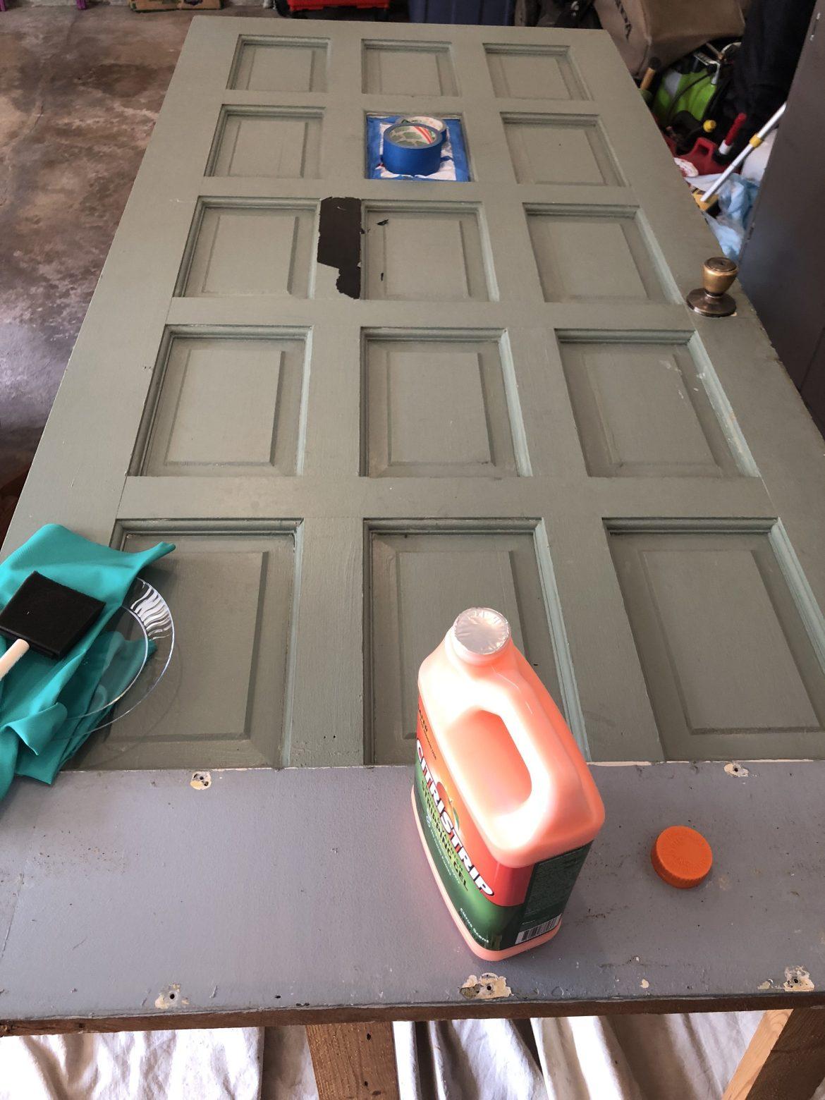 Refinish a Vintage Front Door
