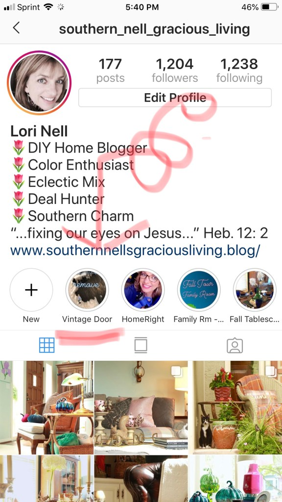 Southern Nell Gracious Living - IG Stories