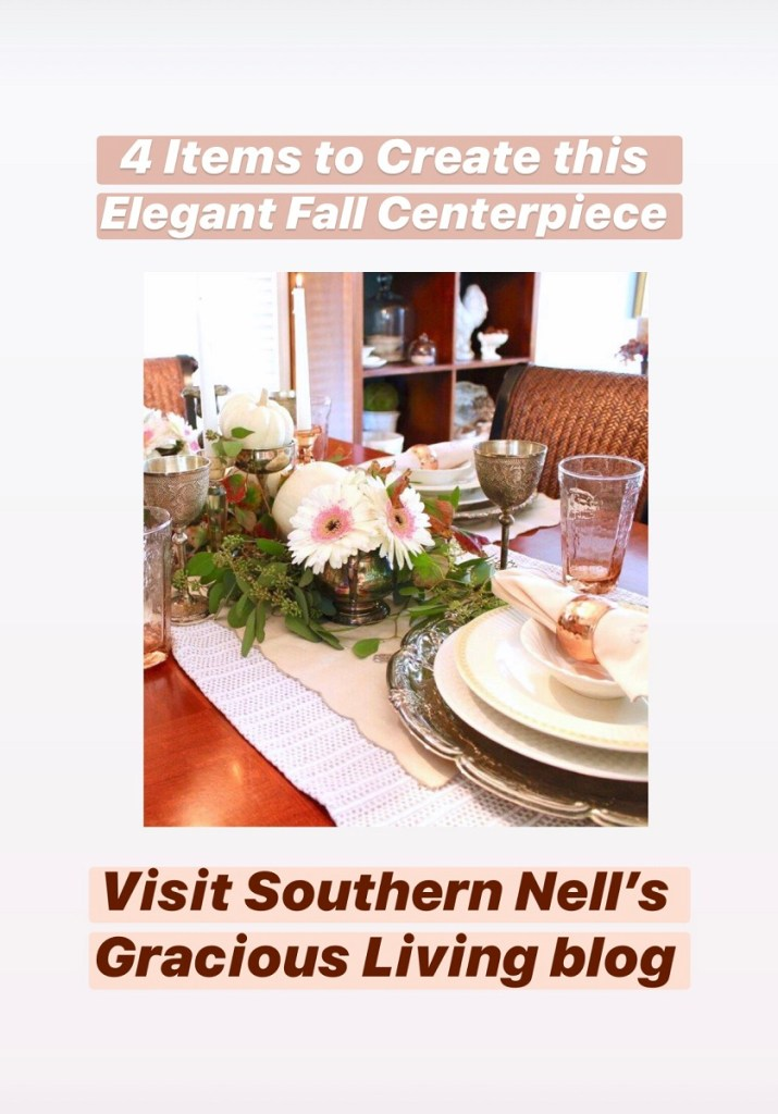 4 Items to Create an Elegant Fall Tablescape