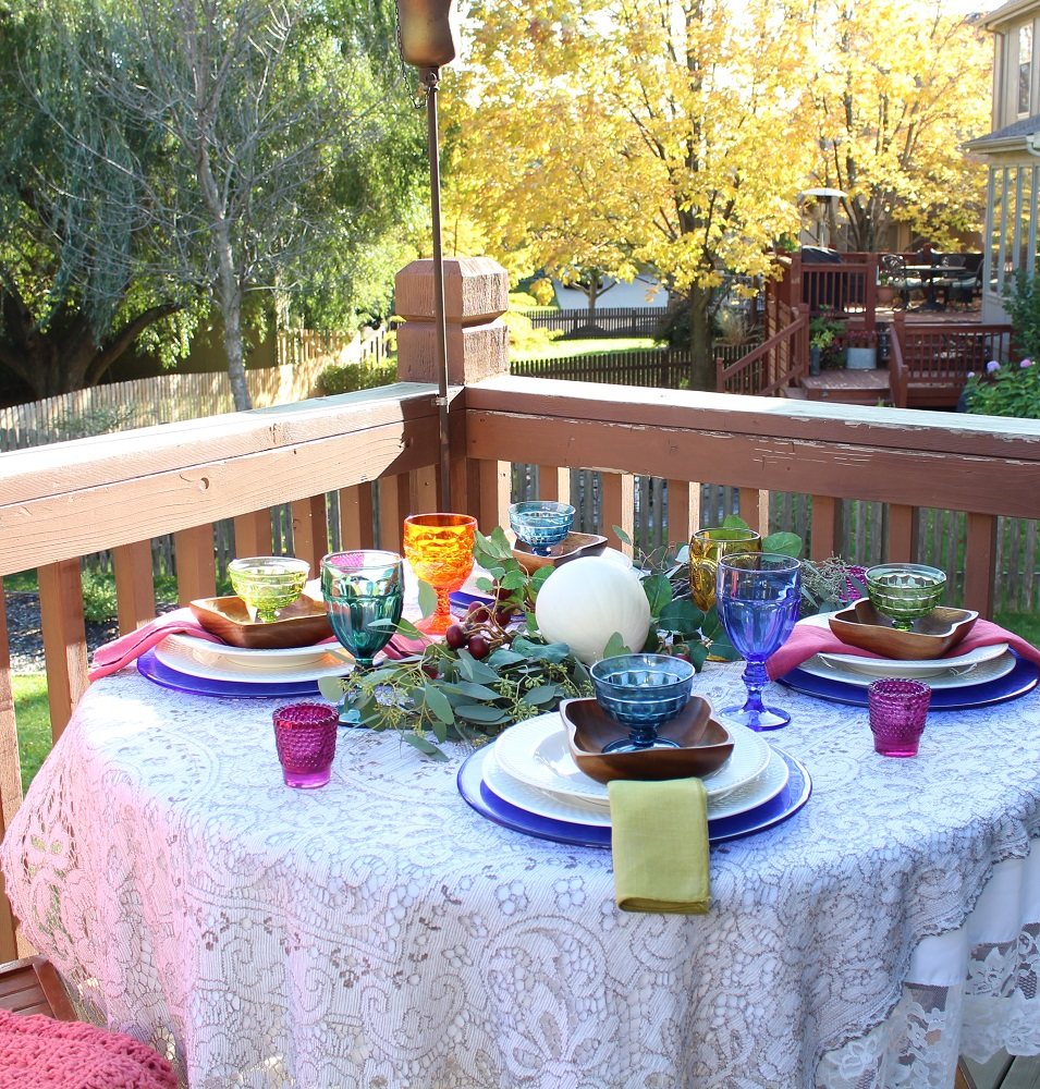 Fall Decor makes Simple Fall Tablescape