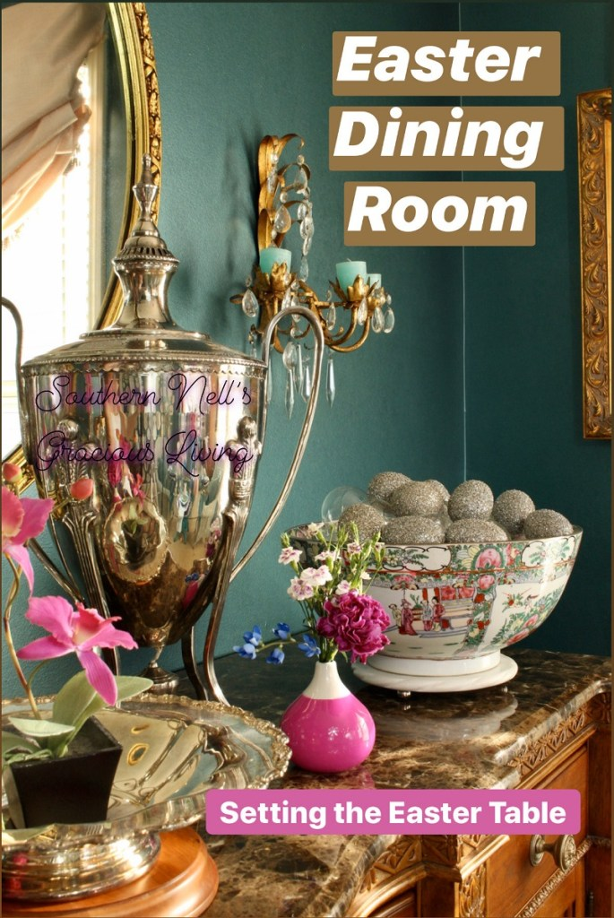 Chinoiserie Spring Easter Buffet