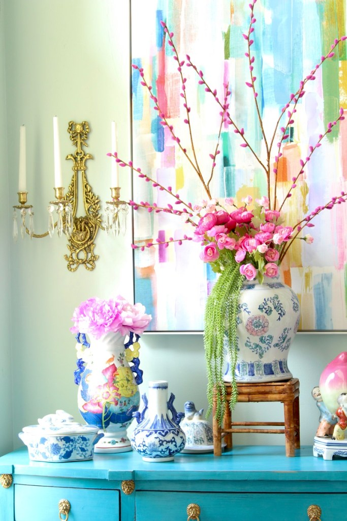Spring Decor Ideas for the Southern Chinoiserie Home