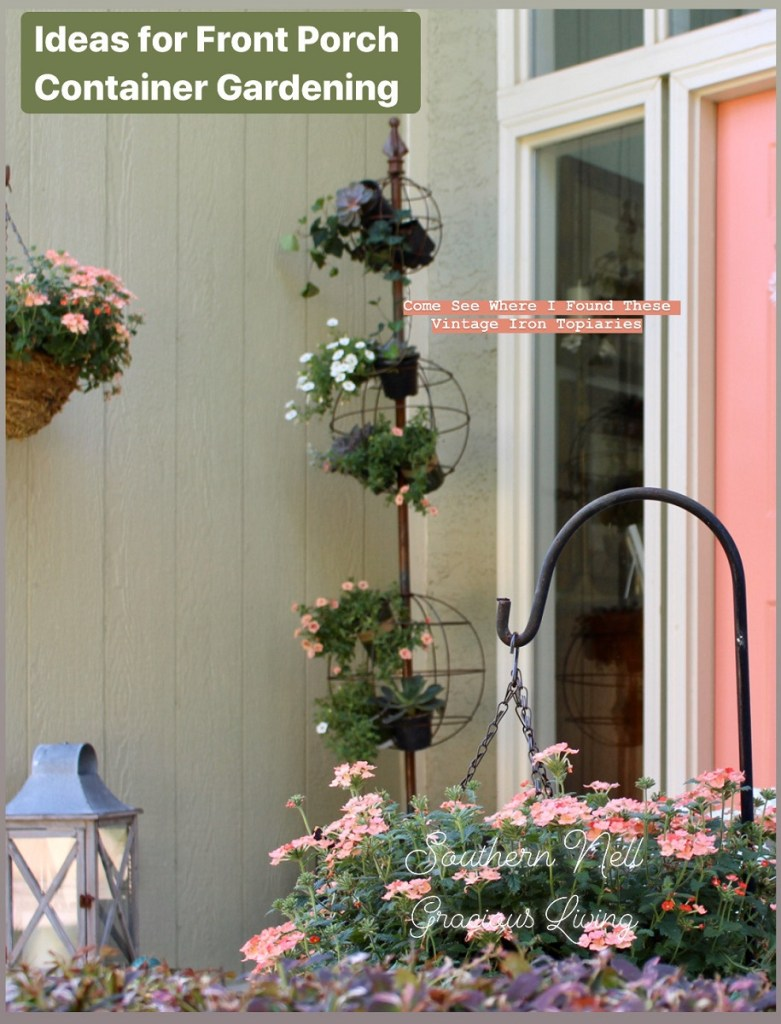 Ideas for Front Porch Flower Containers