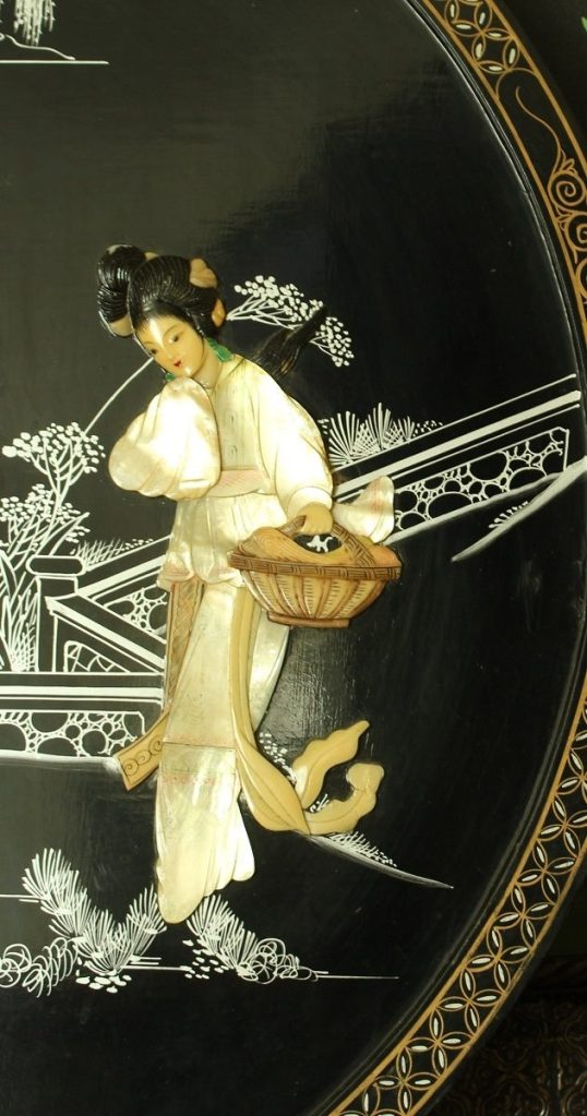 Asian Artwork in Mother of Pearl