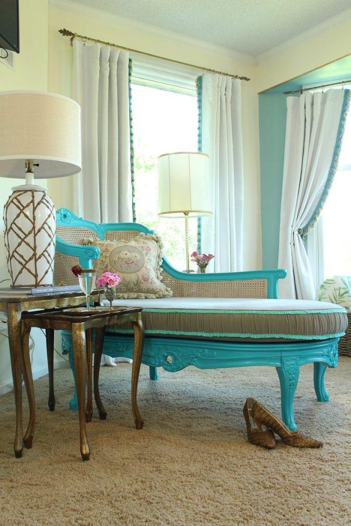 High Gloss Master Bedroom Vintage Furniture