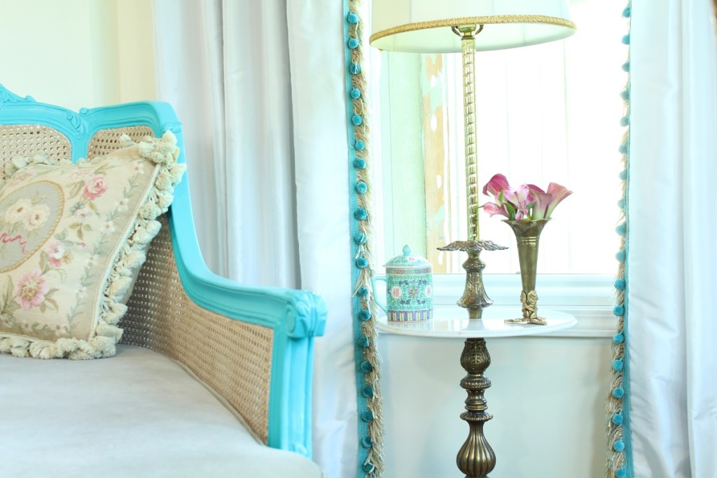 Chinoiserie Chic Bedroom Sitting Area