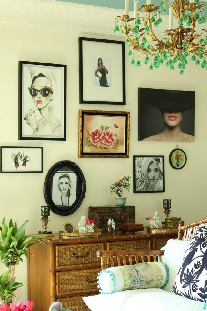 Gallery wall of Women