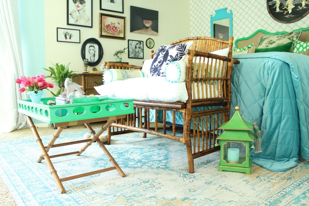 Chinoiserie Bedroom Furniture and Decor
