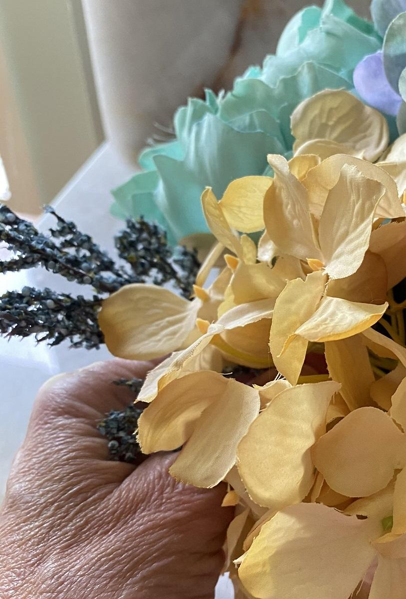 Fall Hydrangea Flower Arrangement