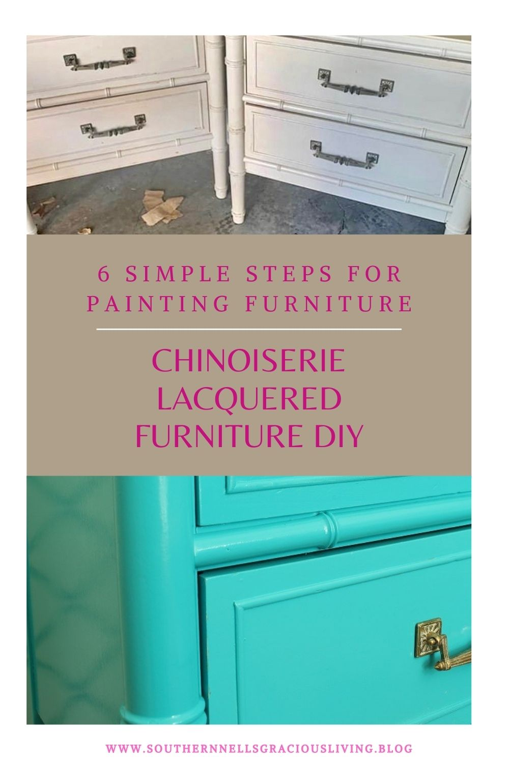 High Gloss Lacquered Furniture DIY