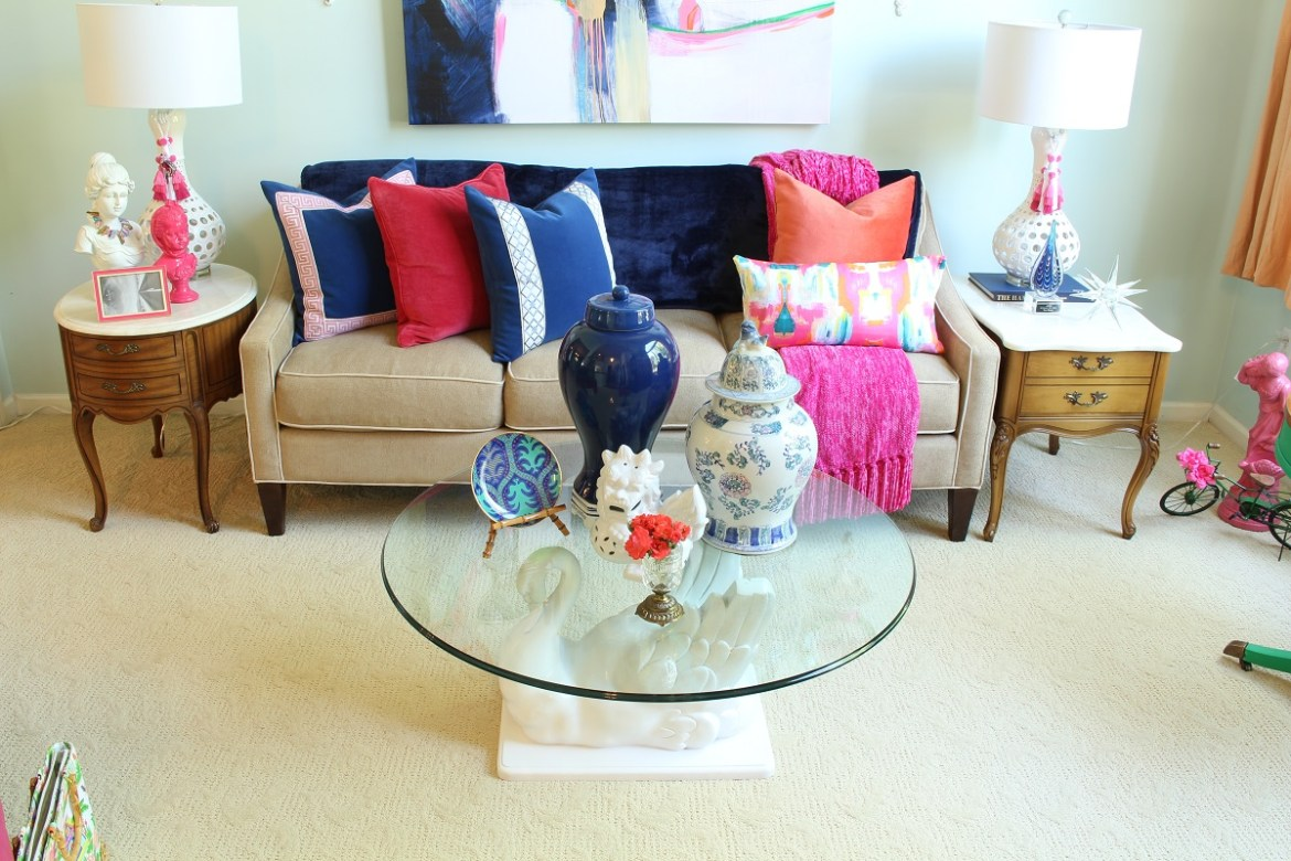 Chinosierie Chic Living Room