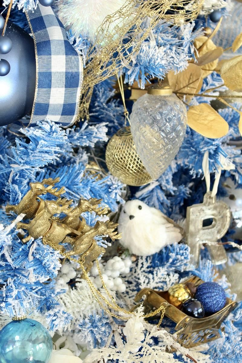 Elegant Blue Christmas
