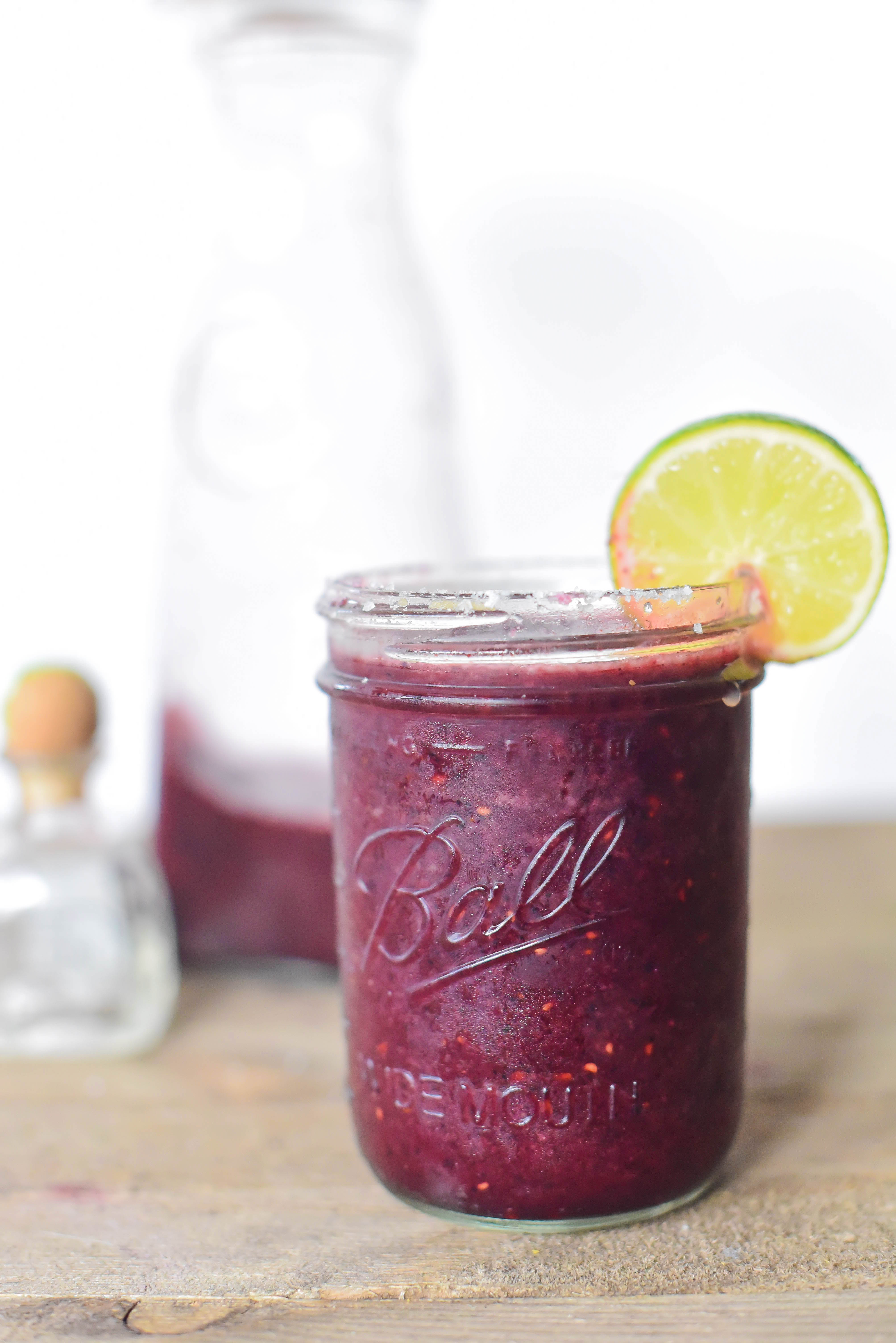 southern parm- frozen mixed berry margaritas