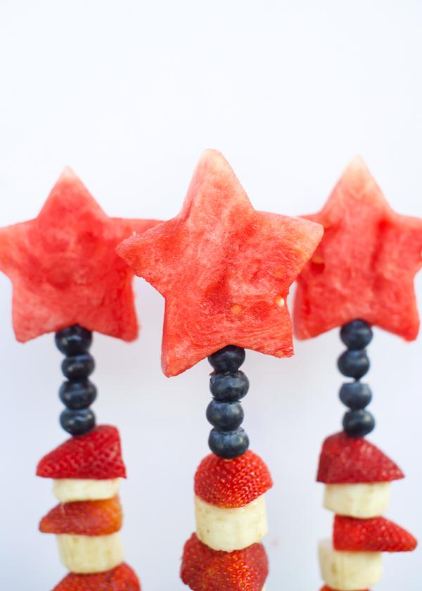 4th of July Fruit Skewers