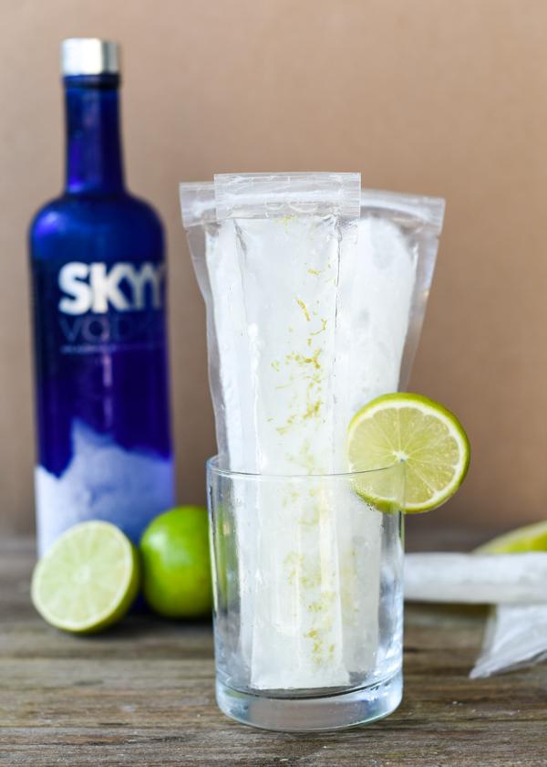 Vodka Tonic Ice Pops Served Two Ways Southern Parm