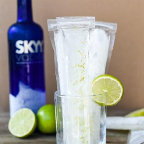 Vodka Tonic Ice Pops