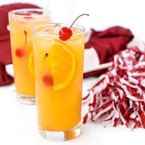 The University of Alabama inspired Yellow Hammer Cocktail
