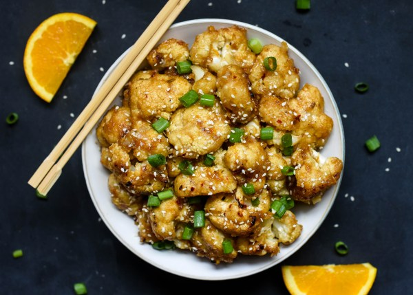(Better Than Takeout) Orange Cauliflower