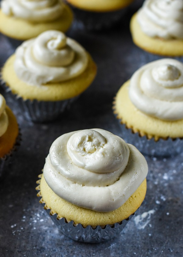 Boozy Maple Whiskey Buttercream Frosting