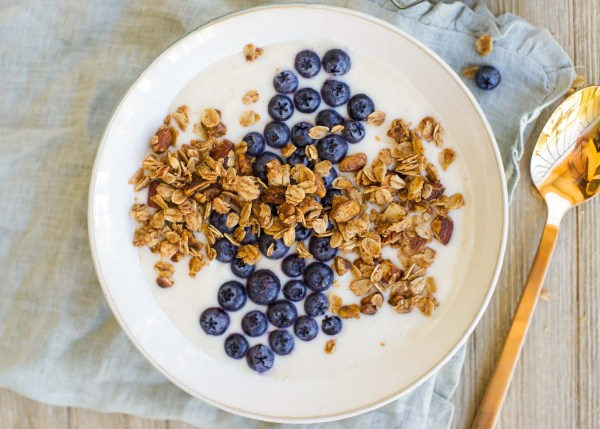 Dairy Free Yogurt Granola Breakfast Bowl