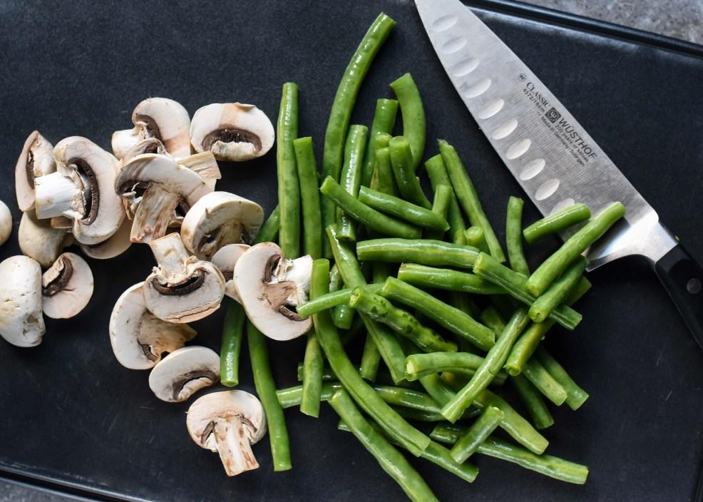 Halfway Homemade Green Bean Casserole