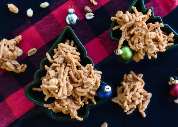 Chris' Famous No Bake Haystack Cookies