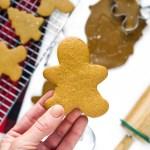 The Best No-Spread Gingerbread Cookies
