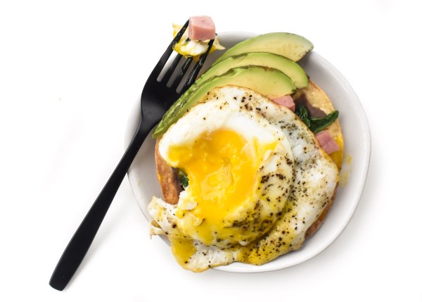 New Year's Day Breakfast Tostadas
