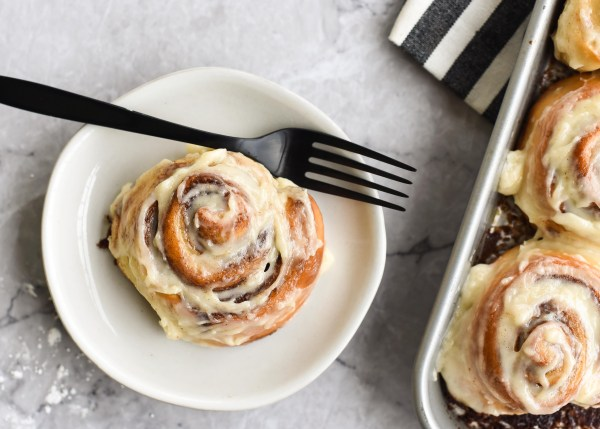 90-Minute Cinnamon Rolls with Cream Cheese Icing