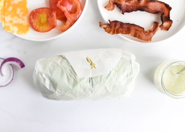 Turkey Bacon Ranch Lettuce Wraps