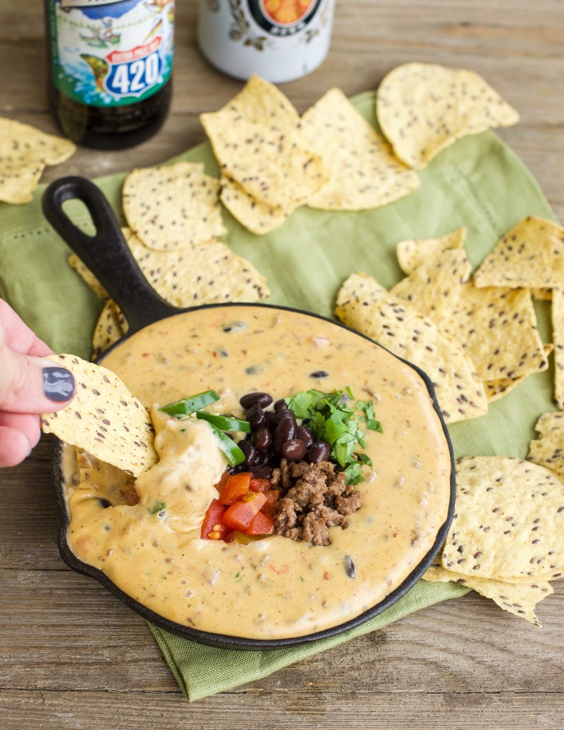 Three-Cheese Cowboy Queso Dip