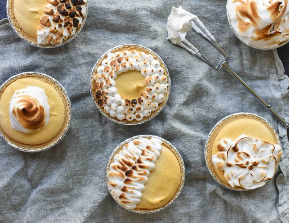 Mini Pumpkin Cheesecake Pies