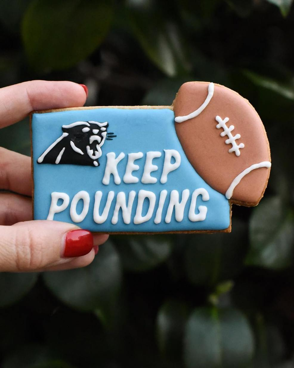 panthers cookie