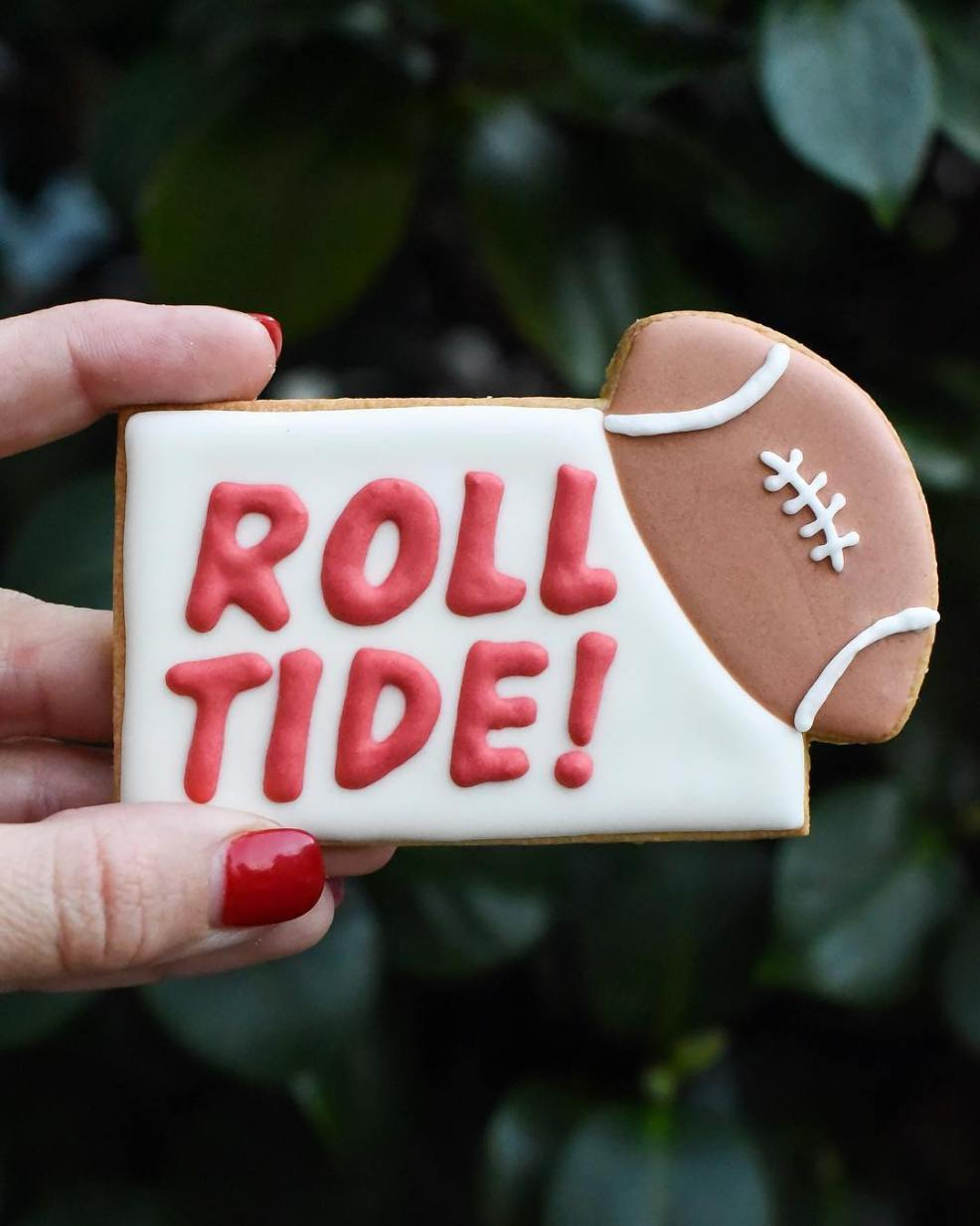 roll tide cookie